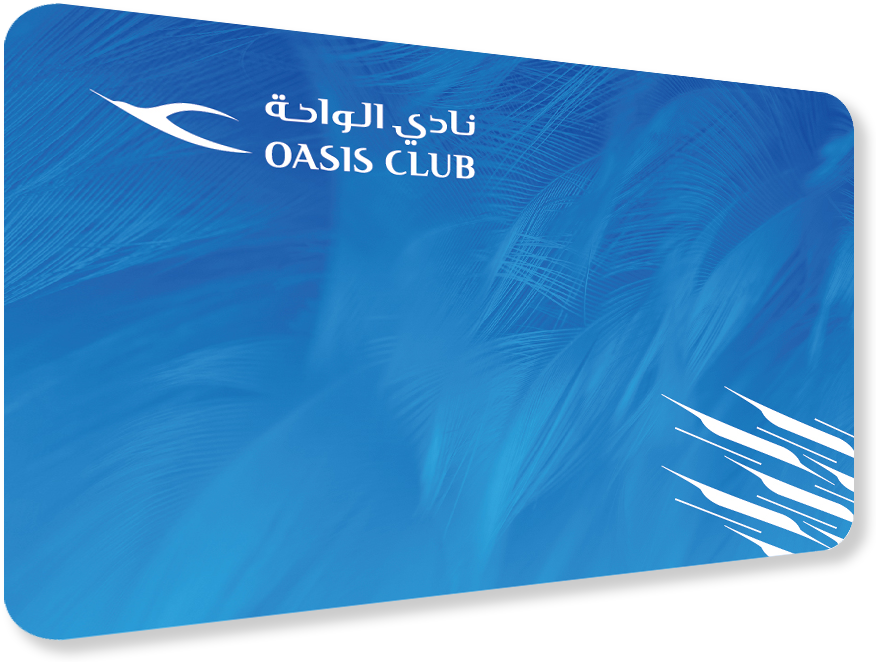 Oasis Blue Card